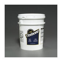 Franklin 5027, 5 Gallon Titebond White Glue, High Heat Resistance, White Color, Dries Translucent