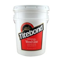 Franklin 5067, 5 Gallon Titebond Original Glue, Yellow Color, Dries Translucent