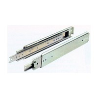"Hettich 73294, 26"" 300lb Side Mount Ball Bearing Full Ext Drawer Slide, Zinc"