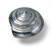 Oceana Swirl Knob  40mm Wide Silverado Laurey 56560