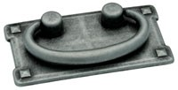Liberty Hardware 62076AP, Bail Pull, Centers 3in, Pewter Antique