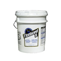 Franklin 4137, 5 Gallon Titebond II Extend Wood Glue, Off White Color, Dries Cream