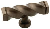 Liberty Hardware 65213RB, Knob, 2-1/2 Dia, Oil Rubbed Bronze, Iron Craft