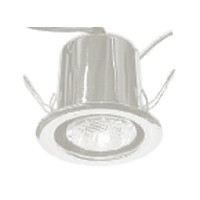 Specialty Lighting 2020-3313, 50 Watt Halogen Canister Light, Type 1, 120V,  Recess Mount, Bright Chrome