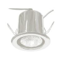 Specialty Lighting 2000-0318, 50 Watt Halogen Canister Light, Type 4, 120V,  Recess Mount, Bright Chrome