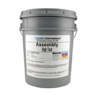 Franklin 22137, 5 Gallon Titebond High Tack Assembly Glue, Cream Color, Dries Translucent