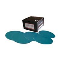 Pacific Abrasives 566761, Abrasive Discs, Aluminum Oxide on Film, 5in, No Hole, PSA, 180 Grit