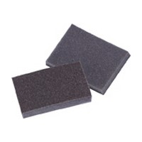 3M 51115070600 Sanding Sponges, Aluminum Oxide, 1 Sided Pro-Pad, Medium Grit