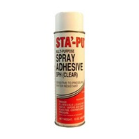 ITW Polymers SPH15ACC, Aerosol Contact Adhesive, Multipurpose, Clear, 15 oz. can