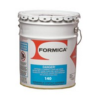 Choice Brands F-140-01, 1 Gallon F140 Bulk Contact Adhesive, Flammable Brush Grade, Premium 19% Solids, Clear