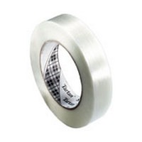 3M 21200865206, Strapping Tape, Light Duty, 1 x 60 yd.