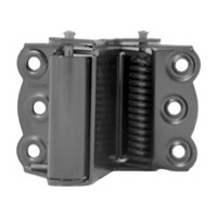 Bommer 9700-601, Gate Spring Hinges, Double Acting, Light Duty, Hinge Size 2-3/4 for 3/4 - 1-1/8 Thick Doors, Black