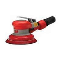 3M 51141203195, Orbital Sander, 5in Self Generated Vacuum, 3/16 Orbit