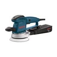 Bosch 3727DEVS, Sander, 6in 6-Hole Hook and Loop, Vacuum, 3.3 Amps, 4,500 – 12,000 RPM, 5/64 Orbit