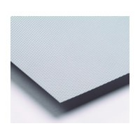 Meier 160-1936-SIL, 19-3/4 Non-Slip Mat, Prisma Series, Silver, Single Sheet Only, 19-3/4 x 36in