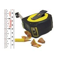 FastCap PMS-12 Tape Measure, Pro Carpenter PMS-12, 12ft, Standard/Metric Read, 1 Wide Blade