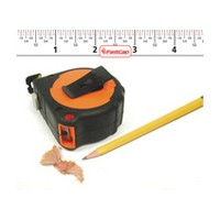 FastCap PSSP-16 Tape Measure, Pro Carpenter PSSP-16, 16ft, Standard Read, 1 Wide Blade with Story Pole