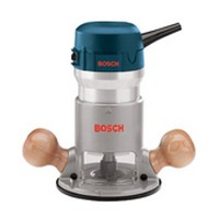 Bosch 1617, Router, Knob Handle Style, Single Speed 25,000 RPM, 2 HP, 11 Amps, 1/4, 3/8 & 1/2 Collet Capacity