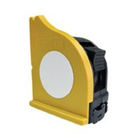 FastCap SQUARE N TAPE W/PS25 Tape Measure, Tape Measure Holder with Tape, 25ft, Standard Read, 1 Wide Blade
