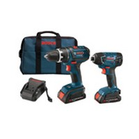 Bosch CLPK232-181, Bosch CLPK232-181, Cordless Drill/Driver & Impactor Kit, 18V