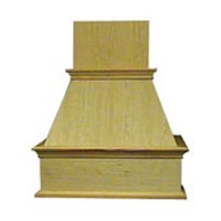 "VMI FDWH 30 H, 30"" Decorative Wood Hood, Hickory"