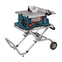 Table Saw, Bosch 4100-09 10in Table Saw with Wheeled Stand