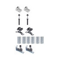 Hettich 1135243 Bulk-10 Sets, Bi-Fold Door Hardware Kit, Grant E-Series for (4) Doors 3/4-1-3/4 Thick, 50lb Capacity