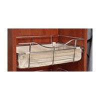 Rev-A-Shelf CBL-241411-T-3, Closet Basket Cloth Liner, 24 W x 14 D x 11 H, Tan