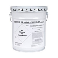 Choice Brands F-268BNF-05, 5 Gallon F268NF Bulk Contact Adhesive, Non-flammable Brush Grade, Green Diamond, No VOC, Clear