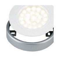 Tresco Surface Mount Ring for EquiLine LED Puck Lights, Nickel, L-SMR-2LED-NI-1