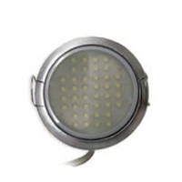 Tresco 3W Pockit 2T 3W LED Puck Light, Warm White, Black, L-LPOC-3W-120NL-WBL-1