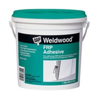 DAP 60480, Construction Adhesive, Weldwood FRP Adhesive, Trowel Grade, White, 1 Gallon