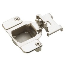 "Matrix Hinge 3/8"" Overlay Self-Close 105 Degree Nickel Amerock BP2811I1214"