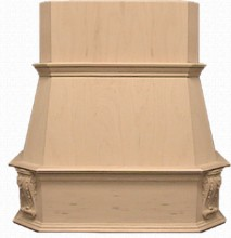 VMI FDWHVK 42 RO Victorian Range Hood, Wall, 42in, Red Oak