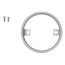 WE Preferred Surface Mount Ring for WE Preferred LED Puck Lights, Nickel, L-PKSMR-NI-1