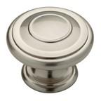 "Oversize Knobs Knob 1-3/4"" Dia Satin Nickel Liberty Hardware P22782C-SN-CP"