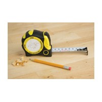 FastCap PMS-16 AUTO LOCK Tape Measure, Pro Carpenter PMS-16AL, 16ft, Standard/Metric Read, 1 Wide Blade, Auto Lock