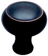 Berenson 8280-1VB-P Round Ring Knob, dia. 1-11/16 (42mm), Verona Bronze, Forte