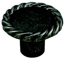 Berenson 7183-10RT-C Round Design Knob, dia. 1-3/8, Rustic Tin, Maestro
