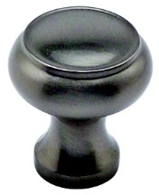 Berenson 8285-1BPN-P, Berenson Round Ring Knob, dia. 1-1/4 (31mm), Brushed Nickel, Forte