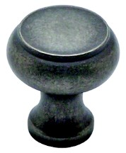 Berenson 8288-1WN-P Round Ring Knob, dia. 1-1/4 (31mm), Weathered Nickel, Forte