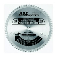 Amana Tool MD10-601 10in Cut Off Saw Blade, Carbide Tipped, 60T, TCG, 6-deg, 5/8 Inch Bore
