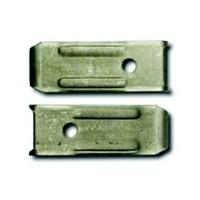 B Walter & Company TPLL101, 3/4 W x 2in L, Leaf Leveler, 14-Gauge, 50-Pack
