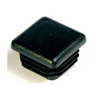 Superior Components 1202-U-14, 1in Square Glide/Cap for 1in Square Table Legs, Black