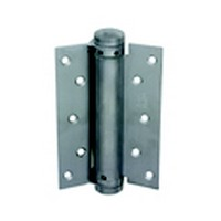 Bommer 4010-6-652, 6in Gate/Spring Hinges, Single Acting for 1-3/4 Thick Doors, Dull Chrome