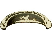 Hickory Hardware PA1021-BYA Cup/ Bin Handle, Centers 2-3/4, Biscayne Antique, Oxford Antique Series