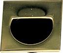 Sugatsune SP-35/PB Recessed Pull, Length 1-3/4 (44mm), Polished Brass