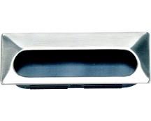 Sugatsune UT-105/S Recessed Pull, Length 4-1/8 (105mm), Chrome, UT Series