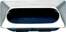 Sugatsune UT-75/S Recessed Pull, Length 2-15/16 (75mm), Chrome, UT Series