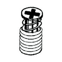 Grass 02445-43 3.5 x 12 SPAX Screw for TEC 860 Dowel, Nickel
